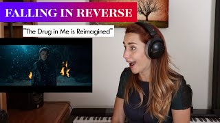 "Falling in Reverse ""The Drug In Me Is Reimagined"" REACTION & ANALYS by Vocal Coach/Opera Singer"