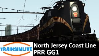 Let's Play Train Simulator - North Jersey Coast Line, PRR GG1