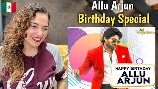 Stylish Star Allu Arjun Birthday Special Mashup | Reaction #AlluArjun