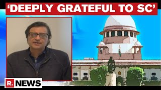 Arnab Goswami Issues First Statement On Supreme Court's Historic Judgement On His Bail