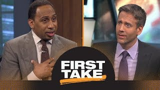 Stephen A., Max debate if Chris Paul and Carmelo Anthony will work in Houston | First Take | ESPN