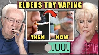 Elders React To Vaping (JUUL) For The First Time