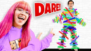EXTREME Boys Vs Girls MOST DARES Challenge!