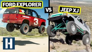 Build & Battle Off-Road FINALE: Jumps, Crawls, Climbs, Jeep XJ vs Ford Explorer. Who Will Survive?