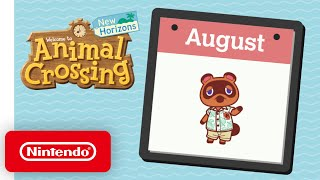 Animal Crossing: New Horizons – Exploring August - Nintendo Switch