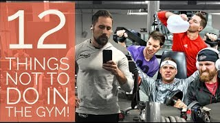 12 things NOT to do in the gym! | Gavin Townsend PT