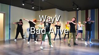 WayV - Bad Alive   Dance Tutorial Русский Туториал