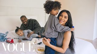 73 Questions With Kim Kardashian West (ft. Kanye West) | Vogue