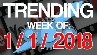 Whats trending on youtube the week of 1-1-2018