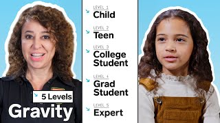 Astrophysicist Explains Gravity in 5 Levels of Difficulty | WIRED