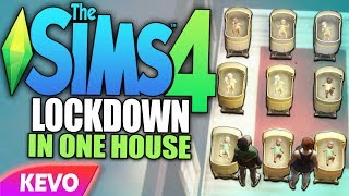 Sims 4 but I put the neighborhood into lockdown in one house
