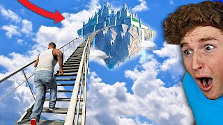 I Found A STAIRWAY To HEAVEN In GTA 5.. (Mods)