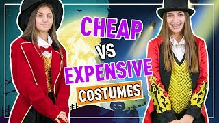 CHEAP vs EXPENSiVE Halloween Costumes 2018 | Kamri Noel