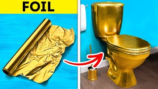 CRAZY HOME DECOR IDEAS || Cheap DIY Furniture Hacks And Repair Tips #shorts