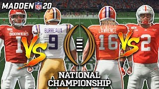 Its the College Football Playoff, but its in Madden 20