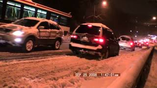 Chaos in Toronto During Snow Storm 2