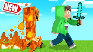 *NEW* CREEPERS In MINECRAFT! (Overpowered)