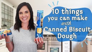 10 Brilliant Ways to Use Canned Biscuit Dough | Canned Biscuit Hacks | MyRecipes