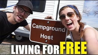 BECOMING A CAMPGROUND HOST | FULL TIME RV LIVING + CYSTIC FIBROSIS (4-12-18)
