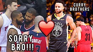 "NBA ""Brother vs Brother"" Plays"