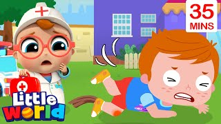 Baby John To The Rescue | Doctor Checkup Song | Kids Songs & Nursery Rhymes by Little World