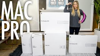 Mac Pro and Pro Display XDR Unboxing!