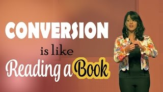 Comparing A Conversation with Reading a Book - A nice Analogy by Malavika Varadan