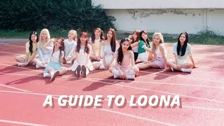 a helpful guide to LOONA by unebine