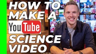 How to make a YouTube video about science | 'Talking Science' Course #10
