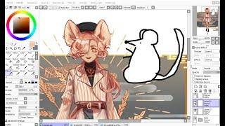 【SAI】Rat [Chinese Zodiac Speedpaint]