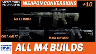 All M4 Weapon Conversions - Call Of Duty Modern Warfare