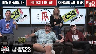 NFL Week 11 Recap and Tony Meatballs Gets Arrested - Barstool Rundown - November 23, 2020