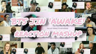 BTS Jin 'Awake' || Reaction Mashup