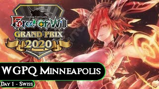 WGPQ Minnesota Day 1 PART 2: Swiss Rounds ! Force of Will (TCG)