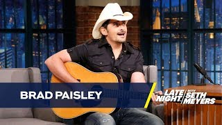 "Brad Paisley Performs a Remix of ""She's Everything"" with More Realistic Lyrics"
