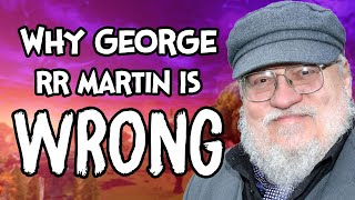 Why George RR Martin Is Wrong - (A Defence Of Video Games)