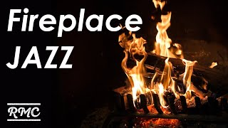 Fireplace JAZZ - Relaxing instrumental Cafe Music BGM