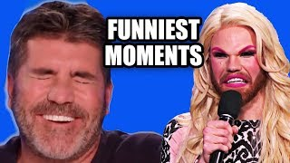 Funniest TV Show Auditions (Idol + X Factor + Got Talent) | Try Not to Laugh Challenge