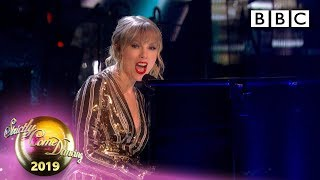 @Taylor Swift performs Lover - The Final | BBC Strictly Come Dancing 2019