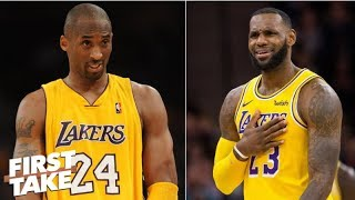 Stephen A. scoffs at notion LeBron-Kobe could've beaten MJ-Pippen | First Take