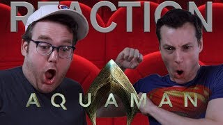 Aquaman - Official Trailer Reaction