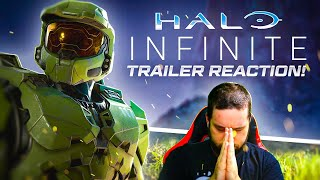 HALO INFINITE GAMEPLAY REACTION (Almost had a heart attack..)