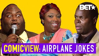 Lavell Crawford, Wanda Smith & A.J. Jamal With Hilarious Airplane & Travel Jokes | Comic View