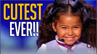 8 CUTEST Tiny Kids Auditions EVER on Got Talent! [Singing, Comedy, Poetry, Rap & More]