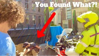 The Police Can't Believe What We Found (Magnet Fishing in Amsterdam)