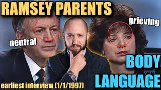 Body Language Analyst REACTS to John and Patsy Ramsey's MIXED Body Langauge | Faces Episode 28
