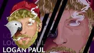 Logan Paul - SpeedArt Vector Illustration