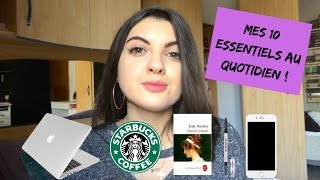 Mes 10 ESSENTIELS au quotidien ! (inspiration GQ video)
