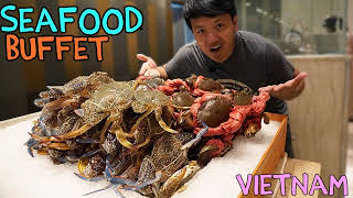 BEST All You Can Eat SEAFOOD Buffet in Saigon VIETNAM!