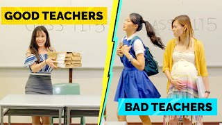 Good Teachers Vs Bad Teachers